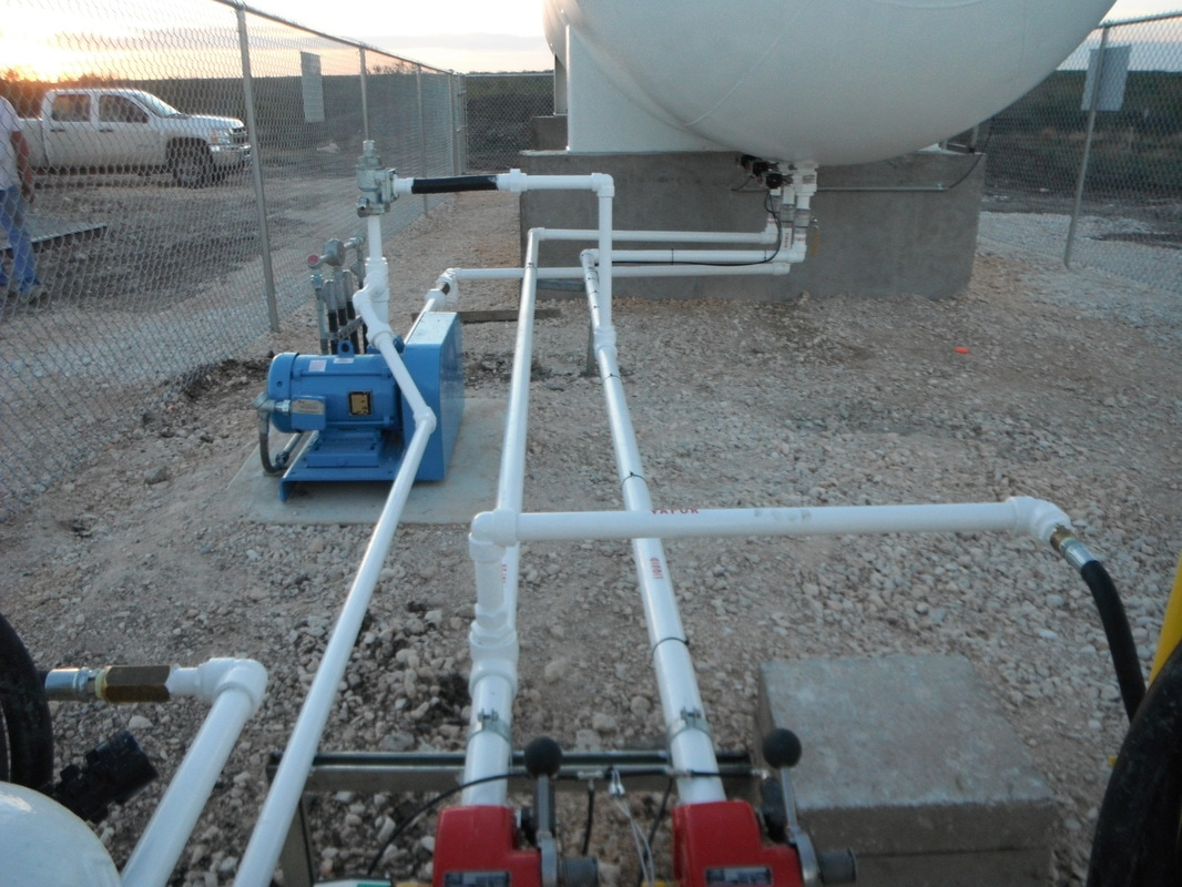 Industrial Facilities Equipped with Propane, Propane Specialty Services, Houston